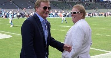 Roger Goodell, Mark Davis, Raiders