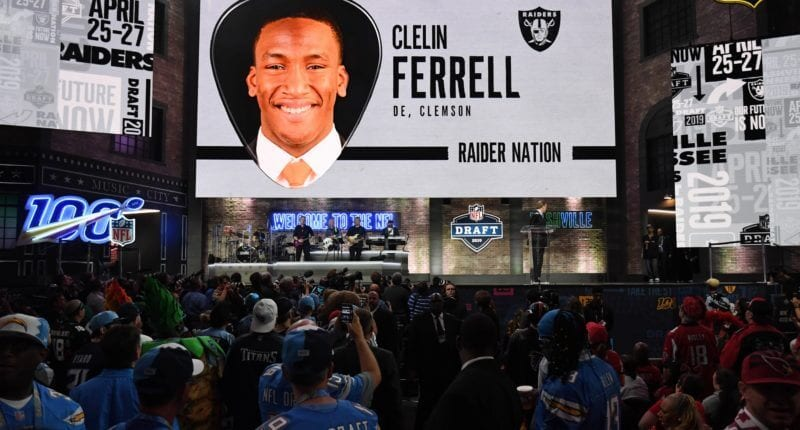 Oakland Raiders - Clelin Ferrell - 2019 NFL Draft