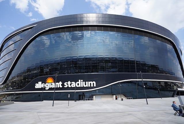 Allegiant Stadium exterior