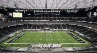 Allegiant Stadium view