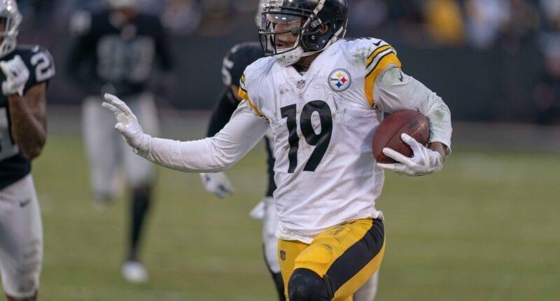 JuJu Smith-Schuster, Steelers, Raiders