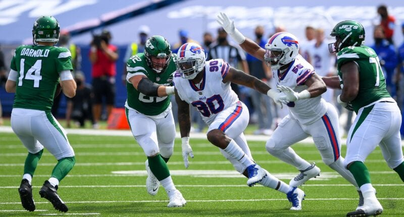 Quinton Jefferson, Bills, Raiders