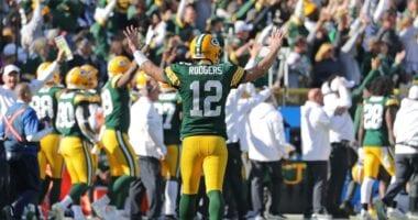 Aaron Rodgers, Packers, Raiders