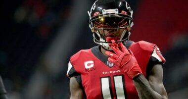 Julio Jones, Falcons, Raiders