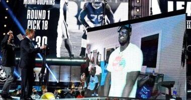 Alex Leatherwood, Raiders, NFL Draft