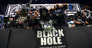Raiders, Black Hole, Allegiant Stadium